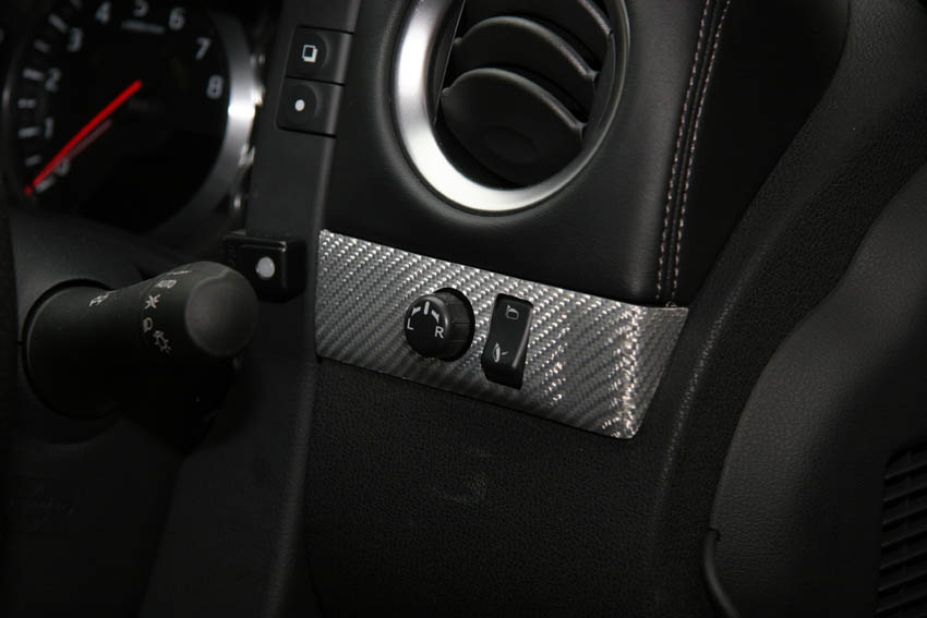 RSW Carbon Mirror Control Panel for GT-R