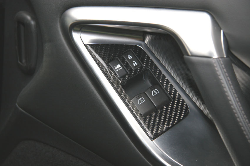 RSW Carbon Window Switch Panels for GT-R